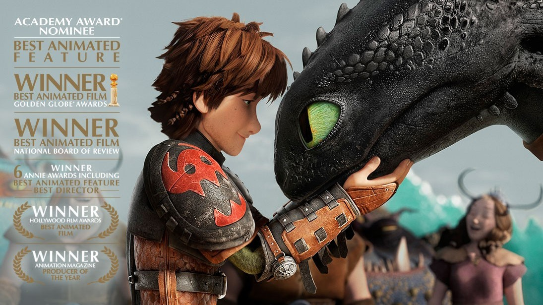 How Train Your Dragon 2 has been nominated for an Oscar for Best Animated Feature